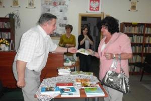 Galeria - Spotkanie autorskie z Anną Błachucką w dniu 21.11.2012r.
