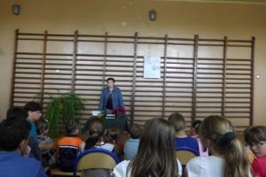 Spotkanie autorskie z Renatą Piątkowską w filii w Żarczycach Dużych